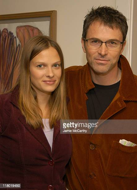 Vinessa Shaw and Tim Daly during 12th Annual Hamptons International Film Festival Rising Star Brunch at Nick Toni's in Easthampton New York United...