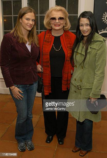 Vinessa Shaw, Gena Rowlands and Eugenia Yuan during 12th Annual Hamptons International Film Festival - Rising Star Brunch at Nick & Toni's in...
