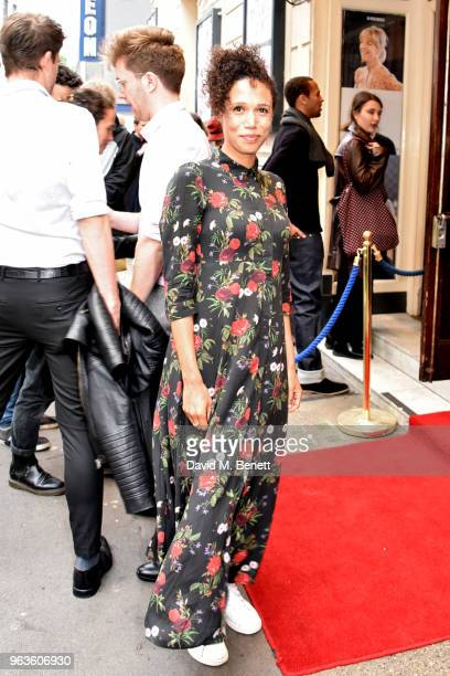 Vinette Robinson arrives at the press night performance of 'Consent' at the Harold Pinter Theatre on May 29 2018 in London England