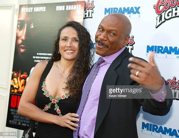 Ving Rhames and his wife Deborah at the premiere of Undisputed at the Festival Theater and afterparty at W Hotel in Westwood Ca Wednesday August 21...