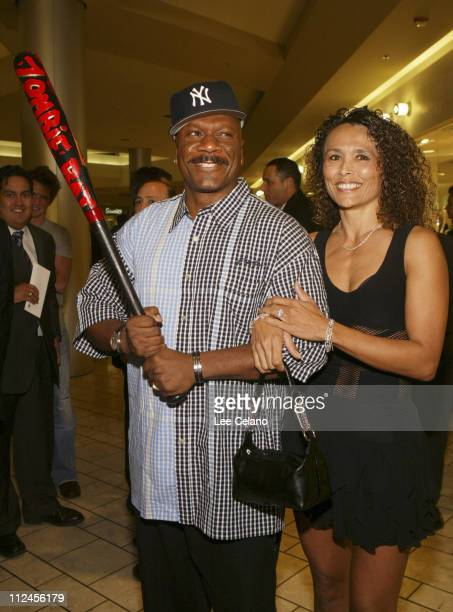 Ving Rhames and wife Deborah during Dawn of the Dead Los Angeles Premiere Red Carpet at Cineplex Beverly Center Theatres in Los Angeles California...