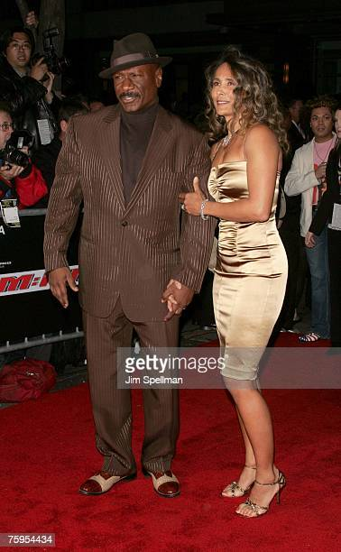 Ving Rhames and wife