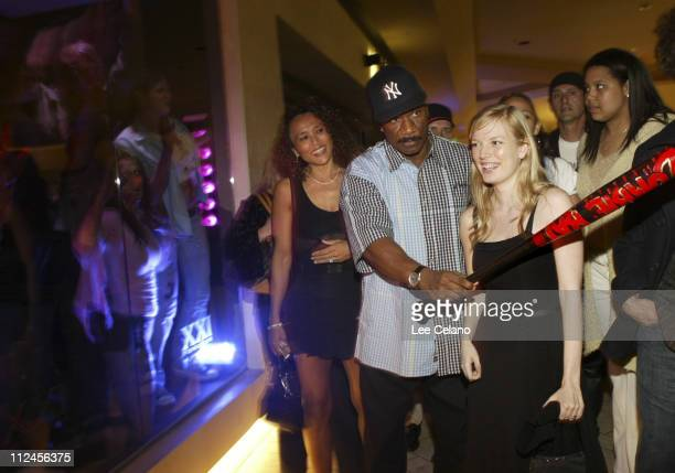 Ving Rhames Sarah Polley and zombies during 'Dawn of the Dead' Los Angeles Premiere AfterParty at Cineplex Beverly Center Theatres in Los Angeles...