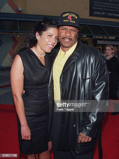 Ving Rhames star of the movie and his wife Valerie arrive