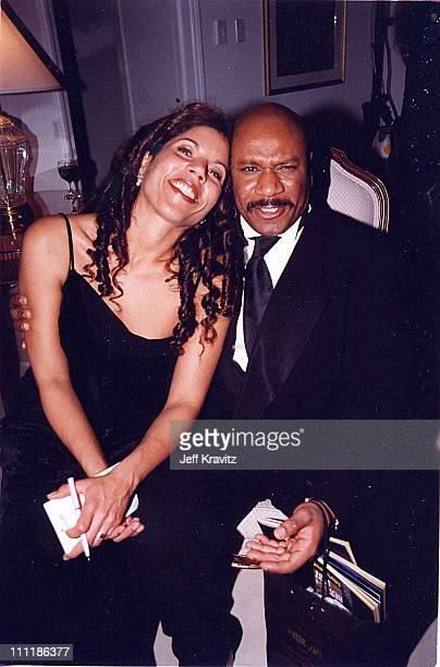 Ving Rhames wife Valerie at the 1998 Golden Globe Awards in Los Angeles