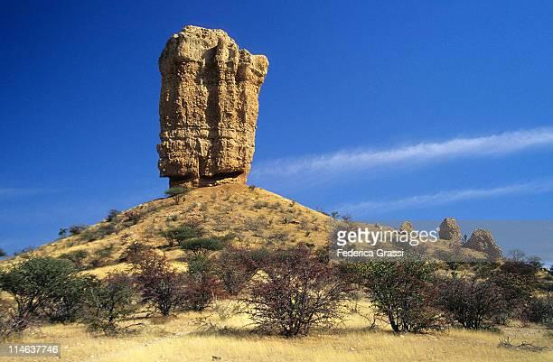 Vingerklip   Kalk-Kegel  Namibia