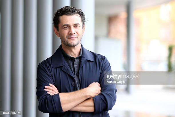 Vinicio Marchioni attends the Alice Nella Città Photocall at the Maxxi Museum on October 1 2018 in Rome Italy