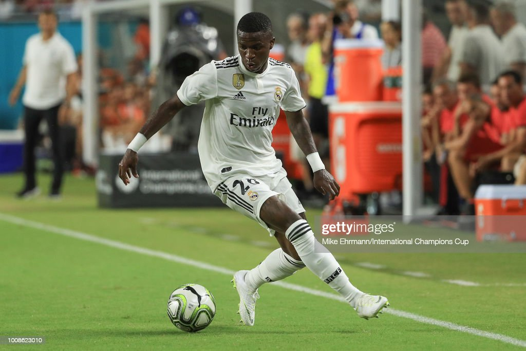 Manchester United v Real Madrid - International Champions Cup 2018 : Photo d'actualité