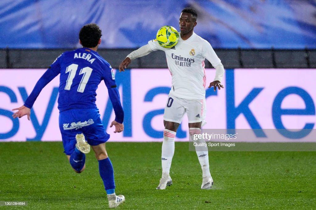 Real Madrid v Getafe CF - La Liga Santander : News Photo