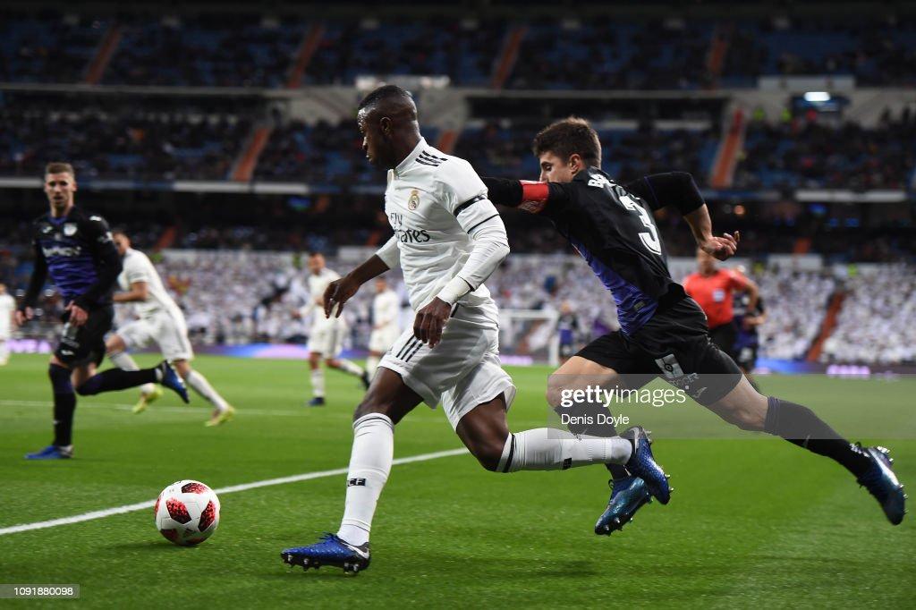 ESP: Real Madrid v Leganes - Copa del Rey Round of 16
