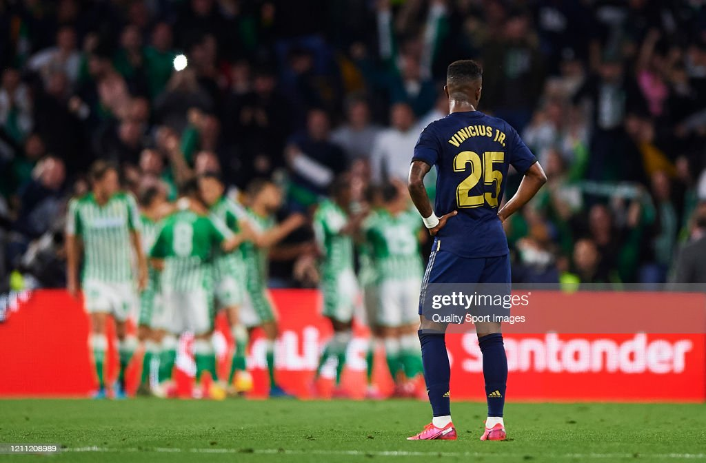 Real Betis Balompie v Real Madrid CF  - La Liga : News Photo