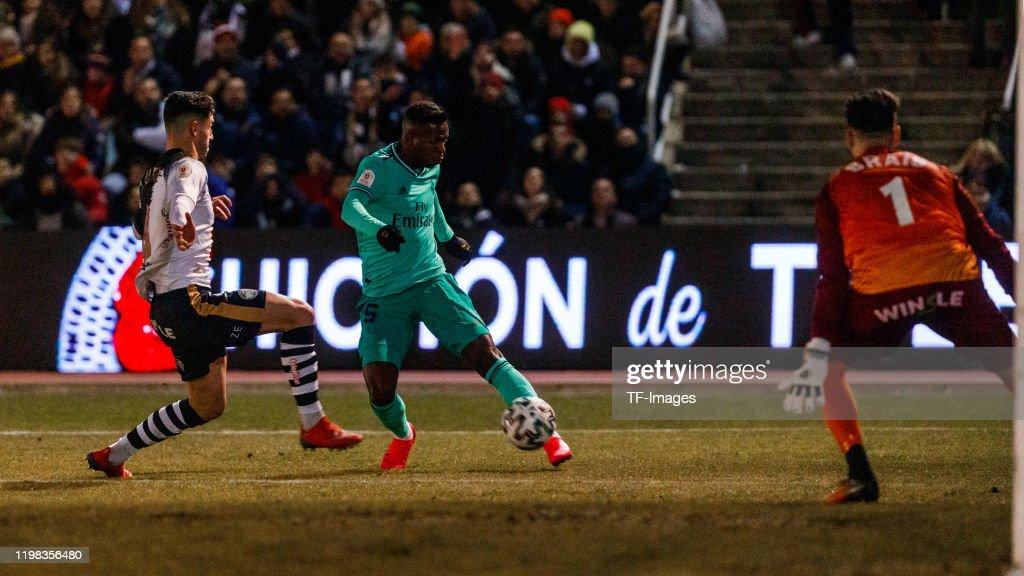 Unionistas CF v Real Madrid - Copa del Rey: Round of 32 : News Photo