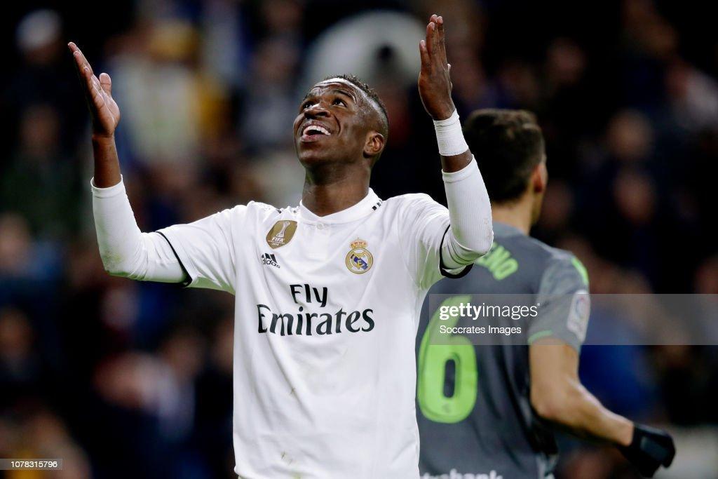 Real Madrid v Real Sociedad - La Liga Santander : ニュース写真