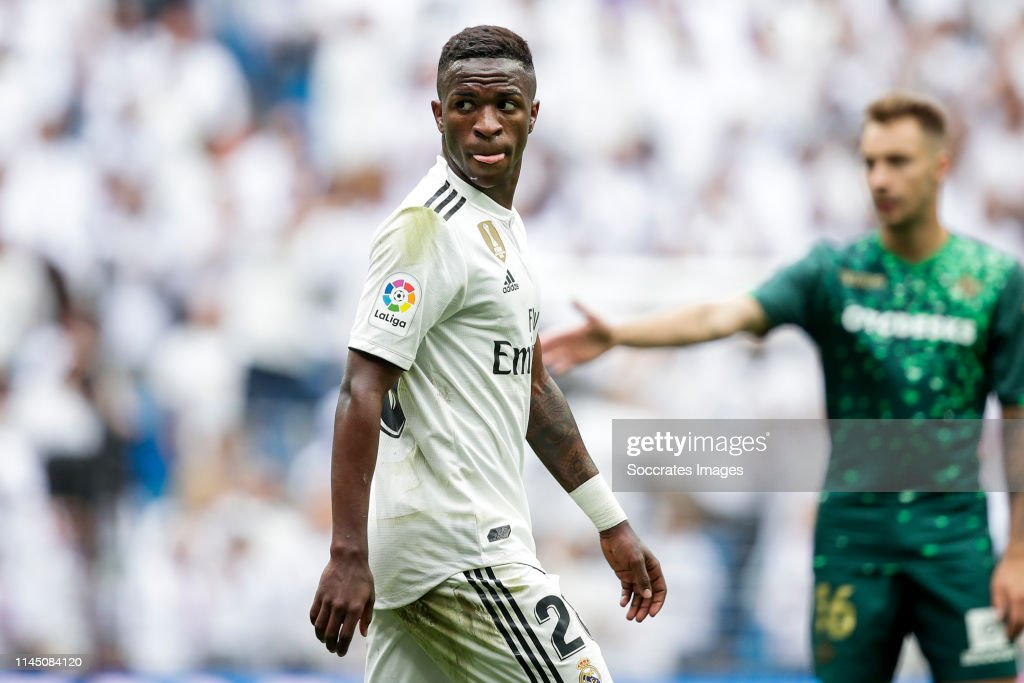 Real Madrid v Real Betis Sevilla - La Liga Santander : Nyhetsfoto