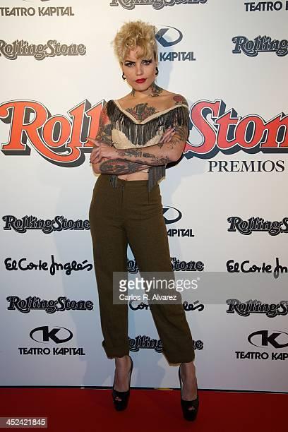Vinila von Bismark attends the Rolling Stone Magazine Awards 2013 at the Kapital Club on November 28 2013 in Madrid Spain