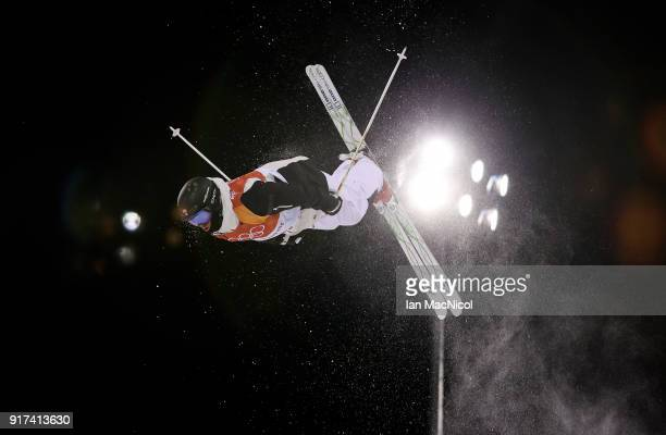 Vinjar Slatten of Norway competes in the Men's Moguls at Phoenix Snow Park on February 12 2018 in Pyeongchanggun South Korea