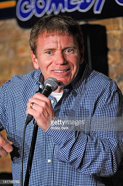 Vinnie Brand performs at The Stress Factory Comedy Club on March 22, 2012 in New Brunswick, New Jersey.