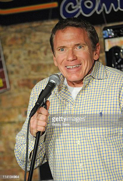 Vinnie Brand performs at The Stress Factory Comedy Club on May 12, 2011 in New Brunswick, New Jersey.