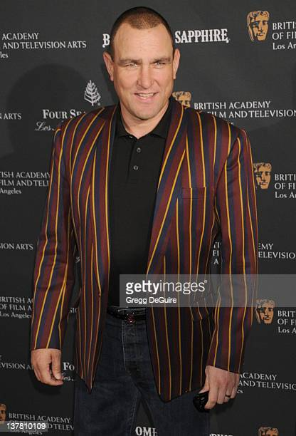 Vinnie Jones arrives at the 17th Annual BAFTA Los Angeles Awards Season Tea Party at the Four Seasons Hotel on January 15 2011 in Los Angeles...