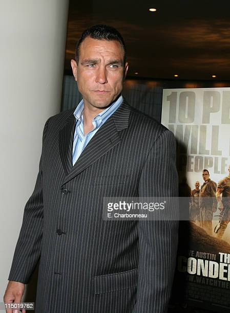 Vinnie Jones during Lionsgate Special Cast and Crew Screening of 'The Condemned' at Arclight Cinemas in Los Angeles California United States