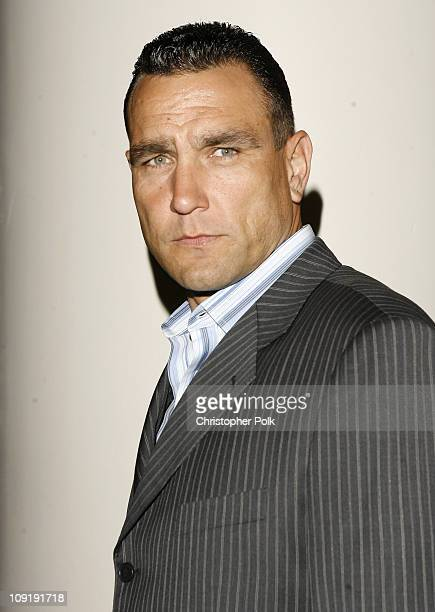 Vinnie Jones during 'The Condemned' Los Angeles Premiere Red Carpet at Archlight in Hollywood California United States