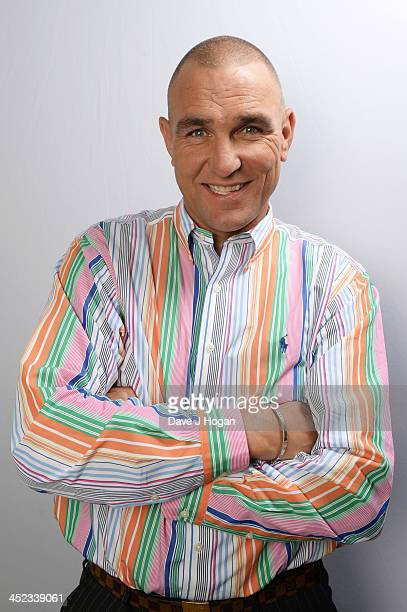 Vinnie Jones poses for a portrait on June 10 2013 in London England