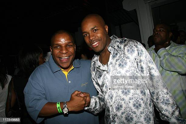 Vinny and DNice during DJ DNice Birthday Party at Bed in New York New York United States