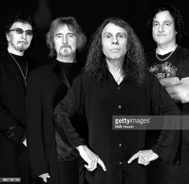 Vinny Appice Geezer Butler Ronnie James Dio Tony Iommi of Black Sabbath spin off Heaven Hell London 27th November 2006