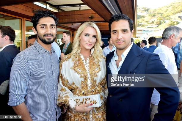 Vinny Chhibber and guests attend Breguet Marine Collection Launch at Little Beach House Malibu on July 11 2019 in Malibu California