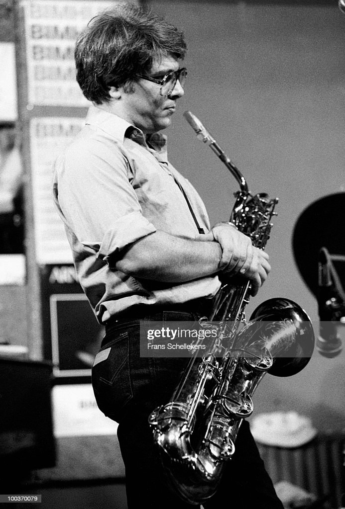 Vinny Golia performs live on stage at Bimhuis in Amsterdam, Netherlands on September 03 1983