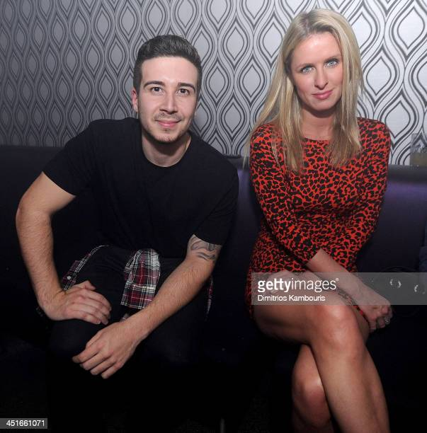 Vinny Guadagnino and Nicky Hilton attend the Grand Opening of Avalon Mohegan Sun on November 23 2013 in Uncasville City