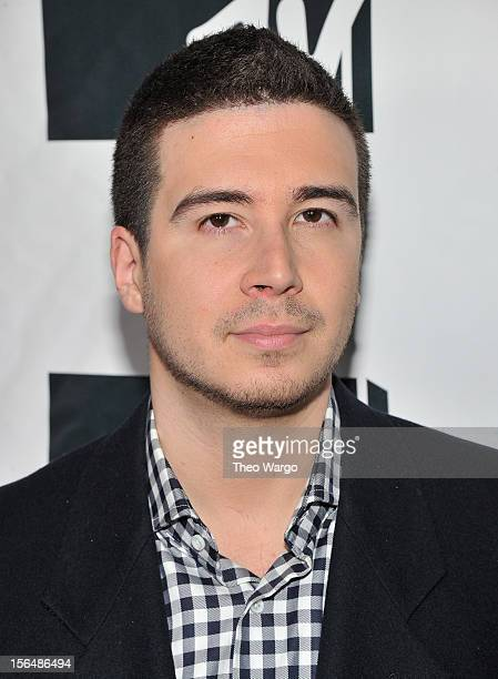Vinny Guadagnino attends MTV 'Restore The Shore' Jersey Shore Benefit at on November 15 2012 in New York City
