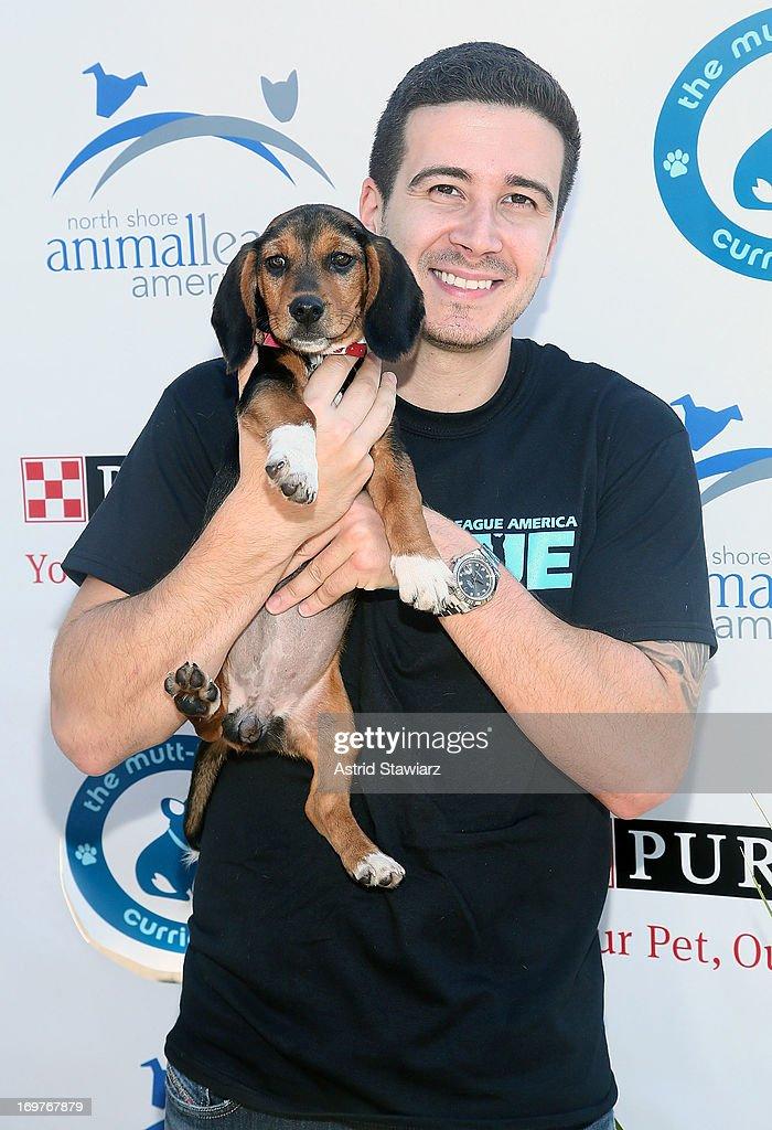 Vinny Guadagnino attends the 19th Annual Pet Adoptathon at North Shore Animal League America on June 1, 2013 in Port Washington, New York.