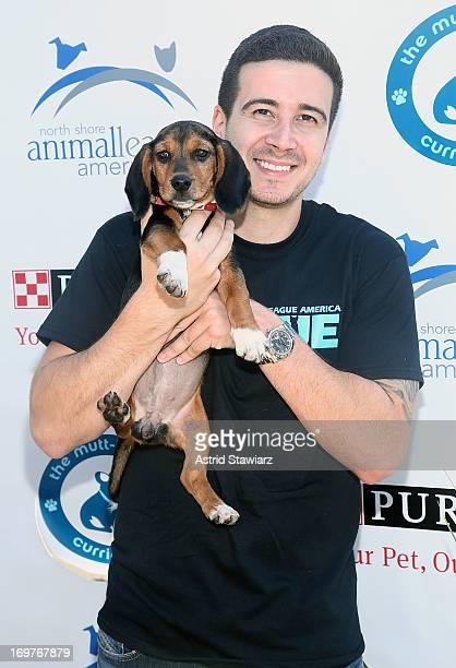 Vinny Guadagnino attends the 19th Annual Pet Adoptathon at North Shore Animal League America on June 1 2013 in Port Washington New York