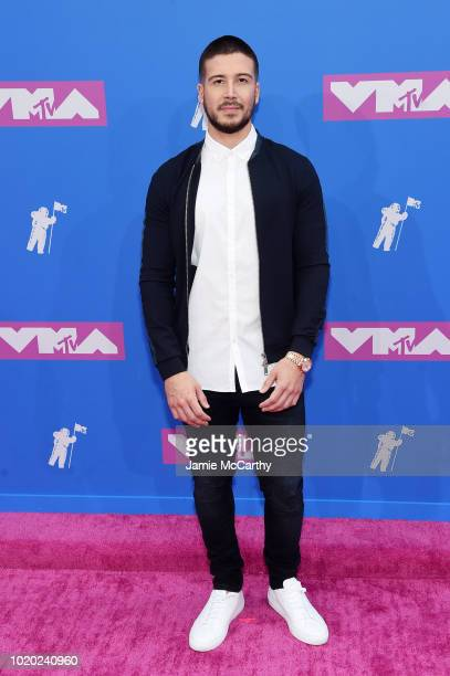 Vinny Guadagnino attends the 2018 MTV Video Music Awards at Radio City Music Hall on August 20, 2018 in New York City.
