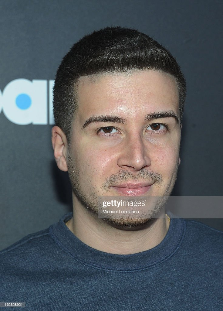 Vinny Guadagnino attends The New Billboard Launch Event at Stage 48 on February 21, 2013 in New York City.