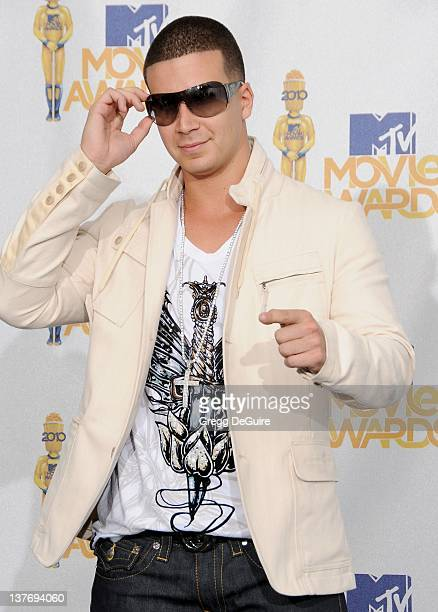 Vinny Guadagnino in the press room at the 2010 MTV Movie Awards at the Gibson Amphitheatre on June 6, 2010 in Universal City, California.