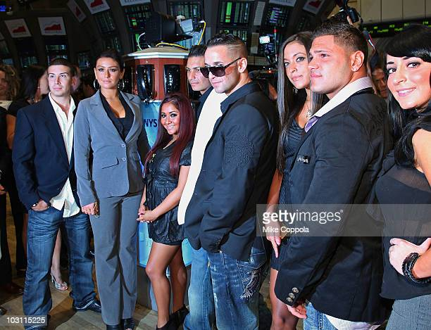 Vinny Guadagnino Jenni JWOWW Farley Nicole Snooki Polizzi Paul Pauly D DelVecchio Mike the Situation Sorrentino Sammi Giancola Ronnie OrtizMagro and...