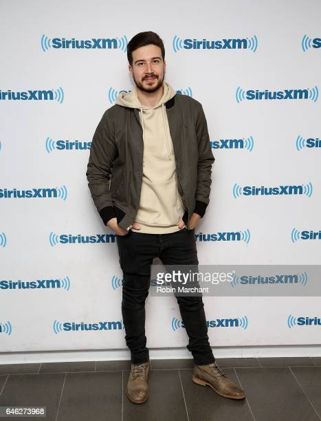 Vinny Guadagnino visits at SiriusXM Studios on February 28 2017 in New York City
