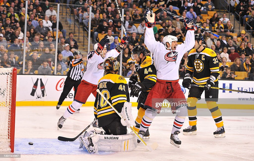 Columbus Blue Jackets v Boston Bruins
