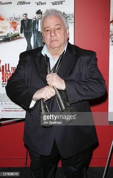 Vinny Vella attends the premiere of 'Kill the Irishman' at Landmark's Sunshine Cinema on March 7 2011 in New York City