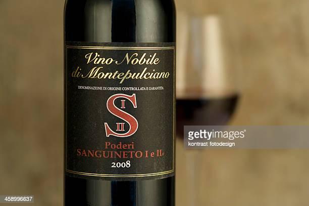 Vino Nobile di Montepulciano Flasche von 2008