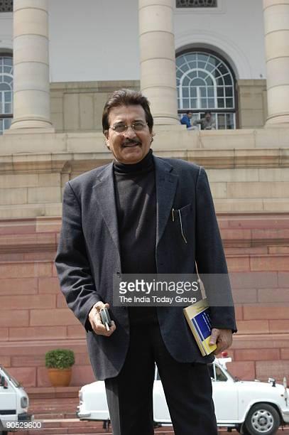 Vinod Khanna at Parliament House in New Delhi India