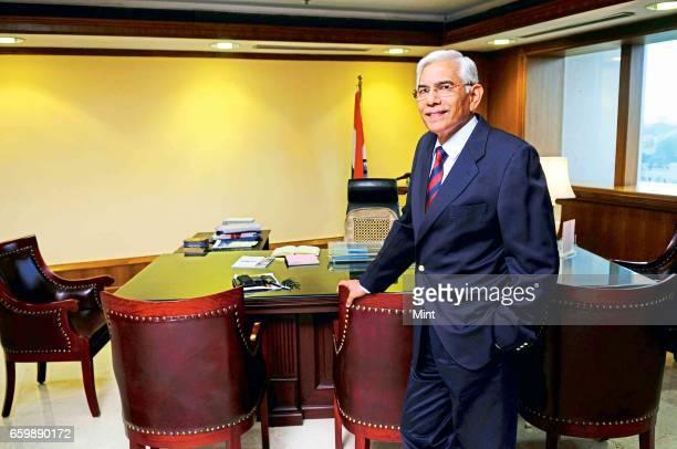 Vinod Rai CAG photographed on July 19 2011 in New Delhi India