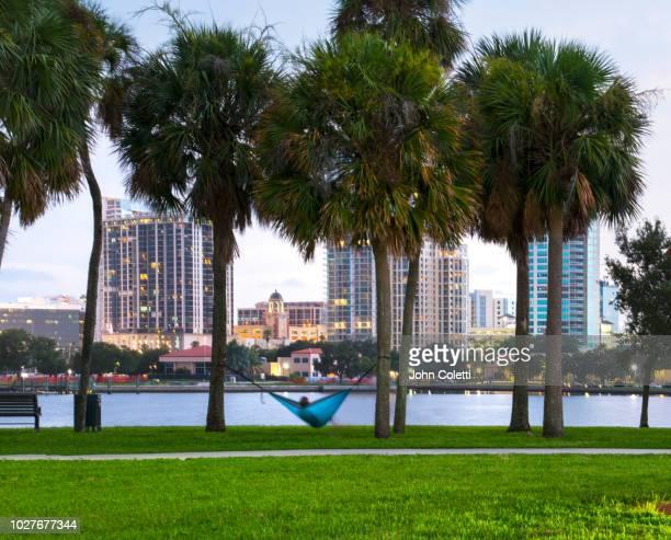 vinoy park, saint petersburg, florida - st. petersburg florida stock pictures, royalty-free photos & images