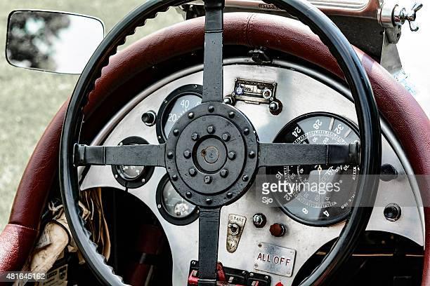 Vintage 1927 Bentley Le Mans race car