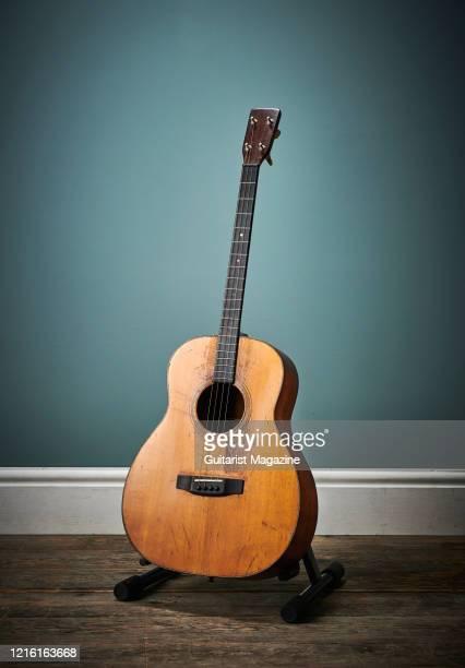 Vintage 1929 Martin 0-18T acoustic guitar, taken on April 5, 2019.