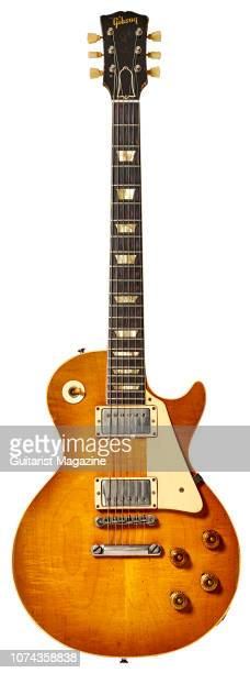 A vintage 1959 Gibson Les Paul Standard electric guitar taken on January 16 2018