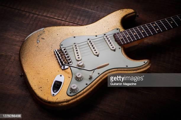 Vintage 1964 Fender Custom Shop Masterbuilt electric guitar, taken on November 19, 2019.