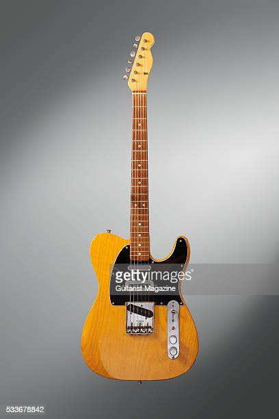 A vintage 1966 Fender Telecaster electric guitar previously owned by English musician Mike Oldfield taken on July 28 2015 The instrument was also the...